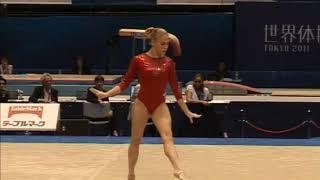 Ksenia Afanasyeva (RUS) Floor Team Qualifcations 2011 Tokyo World Championships