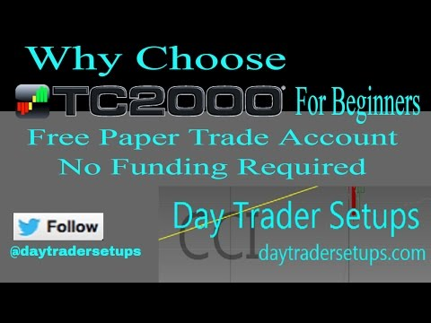 Why Choose TC2000 Charting Platform as a Beginner