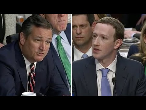 Sen. Ted Cruz grills Mark Zuckerberg on political bias