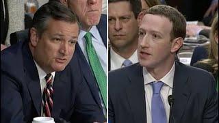 Sen. Ted Cruz grills Mark Zuckerberg on political bias