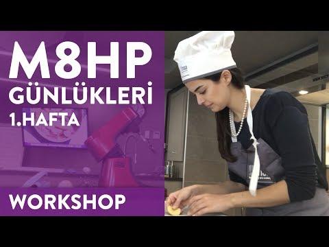 Aybike ile Mutfakta 8 Hafta Pastacılık 2 - 1. Gün - MSA'da Eğitim Alıyorum!