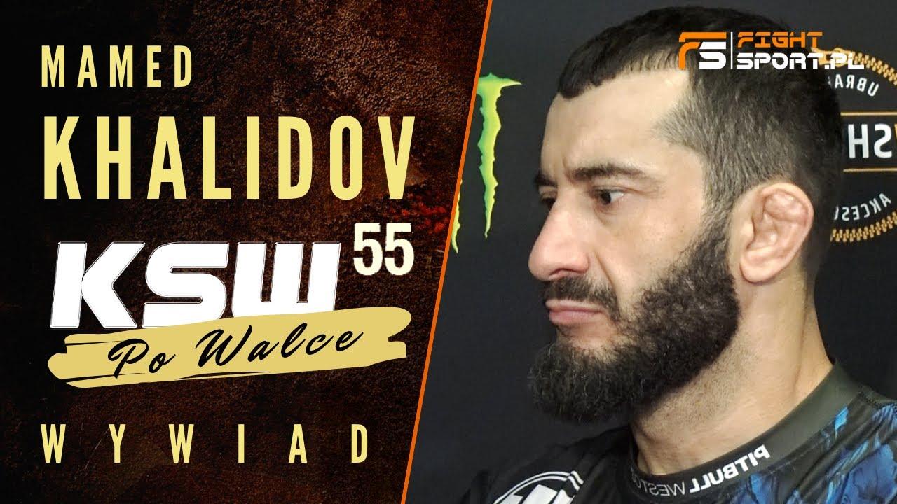 Download MAMED KHALIDOV BŁYSKAWICZNIE NOKAUTUJE SCOTTA ASKHAMA NA KSW 55