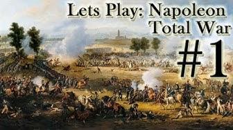 Let's Play Napoleon Total War (Italien, German, Full HD) # 1 - Die erste Schlacht gegen Österreich