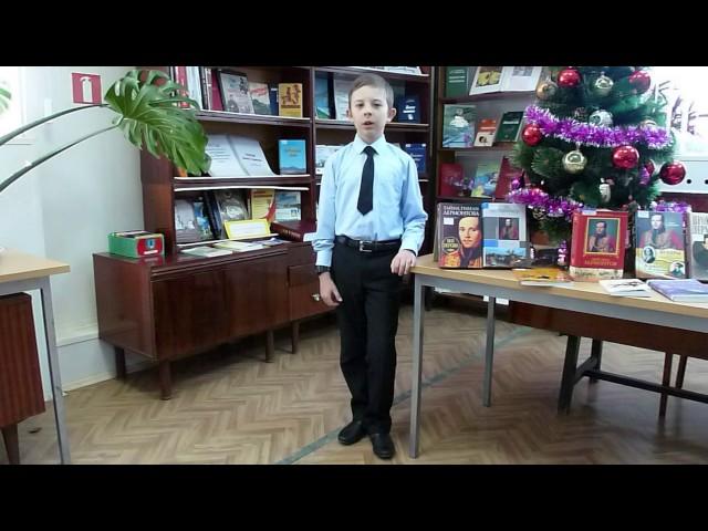 Изображение предпросмотра прочтения – КсенияМоисеева читает отрывок изпроизведения «Бородино» М.Ю.Лермонтова
