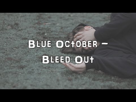 Blue October - Bleed Out [Acoustic Cover.Lyrics.Karaoke]