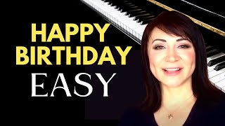 How to Play Happy Birthday - Easy Piano Tutorial