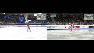Alena Kostornaia SP at GP Final vs NHK Trophy 2019 Алёна Косторная КП Финал Гран При 2019