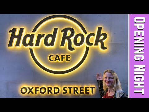 Hard Rock Hotel & Cafe London / Oxford Street Opening Night 2019