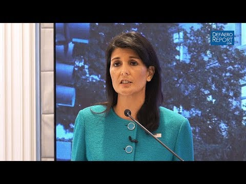 Haley at AEI: 'Missile Technology Cannot Be Separated from the Pursuit of a Nuclear Weapon'