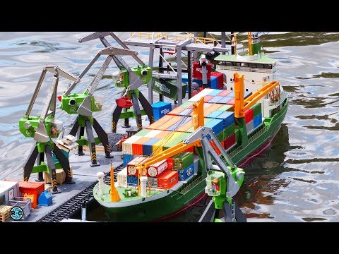 RC SCALE MODEL BOATS & HARBOR 🚩 Model Pirates Reckenfeld 2017