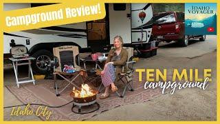 Ten Mile Campground   Idąho City, Idaho