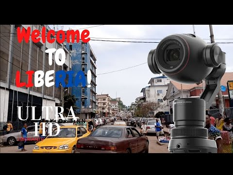 Welcome to Liberia / Liberian Traffic / Driving in Central Monrovia / Monrovia Liberia 2020 ULTRA HD