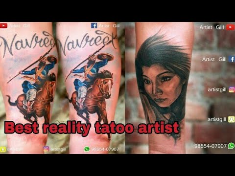 Best  reality tatoo maker artist from ludhiana