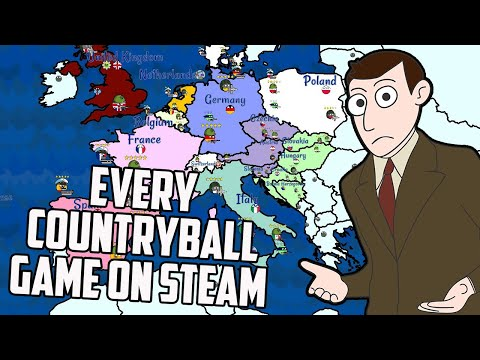 So I Decided To Play Every Countryball Game On Steam