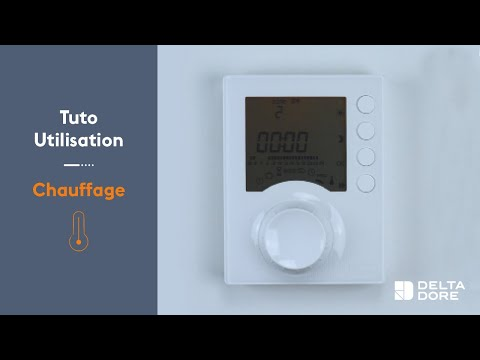 utilisation chauffage programmer un thermostat tybox. Black Bedroom Furniture Sets. Home Design Ideas