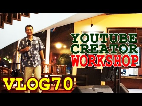 WORKSHOP YOUTUBE CREATOR BUSINESS KOMUNITAS KOTA MALANG JAWA TIMUR