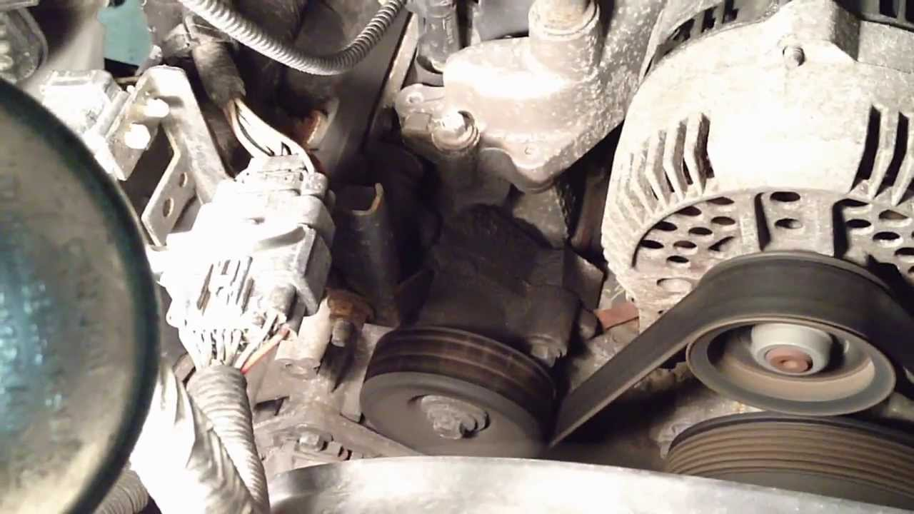 small resolution of 2006 ford five hundred steering pump