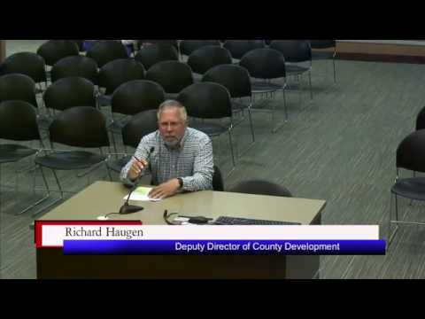 Brookings County Commission 2016-10-18