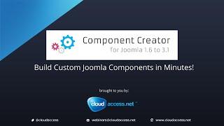 Joomla Component Creator