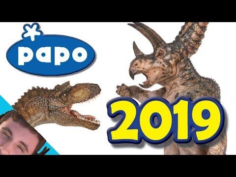 NEW Papo 2019 Dinosaurs || GORGOSAURUS & MORE! [Casual SpinoDino]
