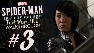 Spider-Man DLC Turf Wars Walkthrough Part 3 Yuri's Revenge! (PS4) HD