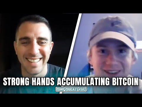 Strong hands are aggressively buying bitcoin right now!! | Pomp Podcast #592