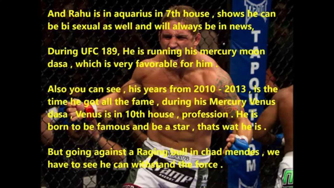 Ufc astrology predictions chad mendes vs conor mc gregor birth chart ufc astrology predictions chad mendes vs conor mc gregor birth chart horoscope video geenschuldenfo Image collections