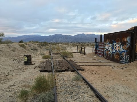 Exploring the Defunct Eagle Mountain Railroad [for r/rustyrails]