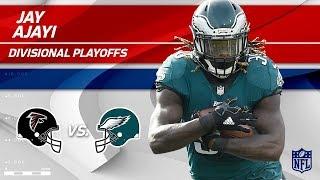 Jay Ajayi's 98 Total Yards vs. Atlanta!   Falcons vs. Eagles   Divisional Round  Player HLs