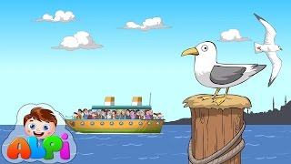 Deniz Şarkısı | Çocuk Şarkıları  - Alpi ve Arkadaşları