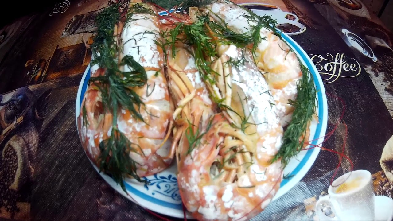 как приготовить креветки лангустины рецепты