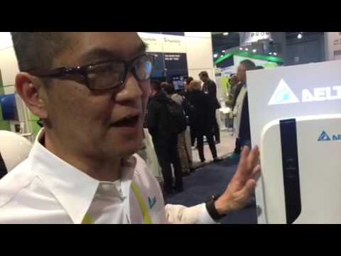 Delta Charging Stations For Home, Work CES 2017 #CES2017