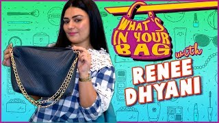 Renee Dhyani's Handbag SECRET REVEALED | What's In Your Bag | TellyMasala