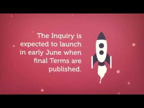 Infected Blood Inquiry - Next Steps (24th May 2018) Contaminated Blood Scandal