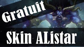 [LOL] Skin gratuit | Alistar déchainé