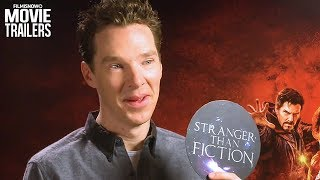 "AVENGERS: INFINITY WAR   Tom Holland & Benedict Cumberbatch Play ""True or False!"""