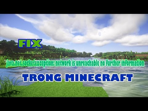 network is unreachable minecraft