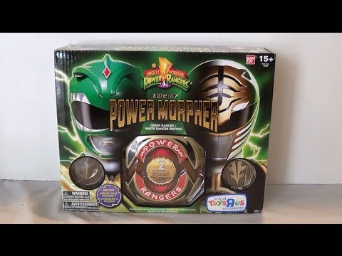 Legacy Power Morpher Green Ranger/White Ranger Edition Review [Mighty Morphin Power Rangers]