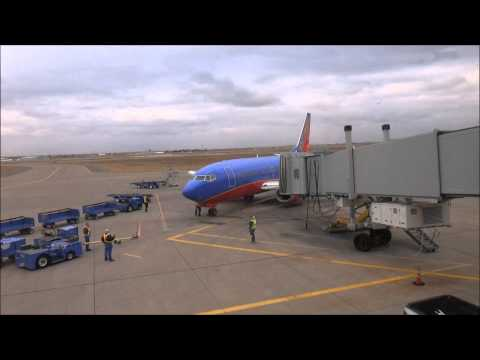 Airplane Trip from Lubbock, TX to El Paso, TX on Southwest Airlines December 2014