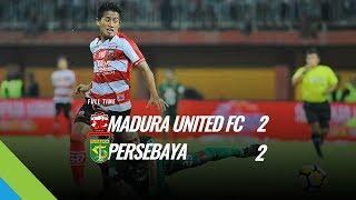 [Pekan 10] Cuplikan Pertandingan Madura United FC vs Persebaya Surabaya, 25 Mei 2018