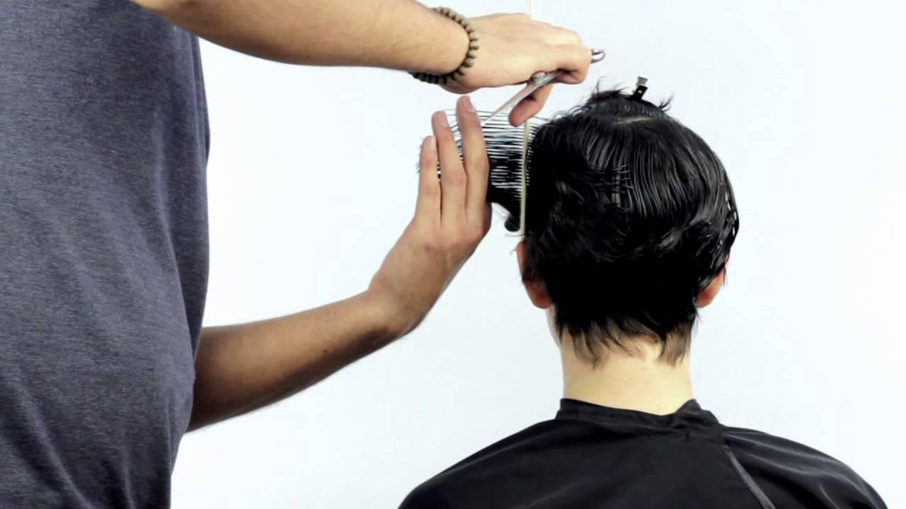Corte de cabello paso a paso corto