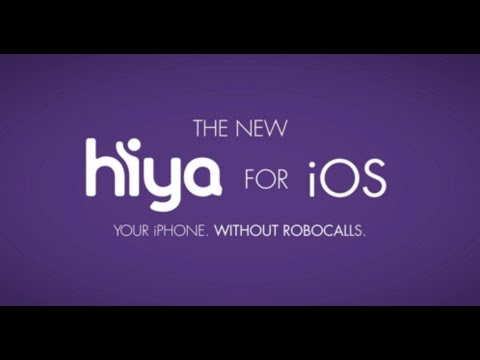 Hiya + iOS: Your iPhone. Without Robocalls.