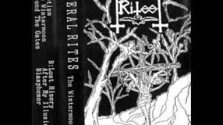 Funeral Rites - The Wintermoon (1996) (Underground Black Metal Japan)