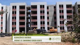 Asignación de viviendas Jardines de Cimarronas genera debate