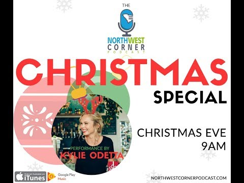 Christmas Eve Special of Northwest Corner Podcast featuring Kylie Odetta - Recording Session