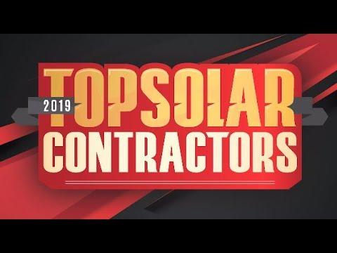 It's Top Solar Contractors season!