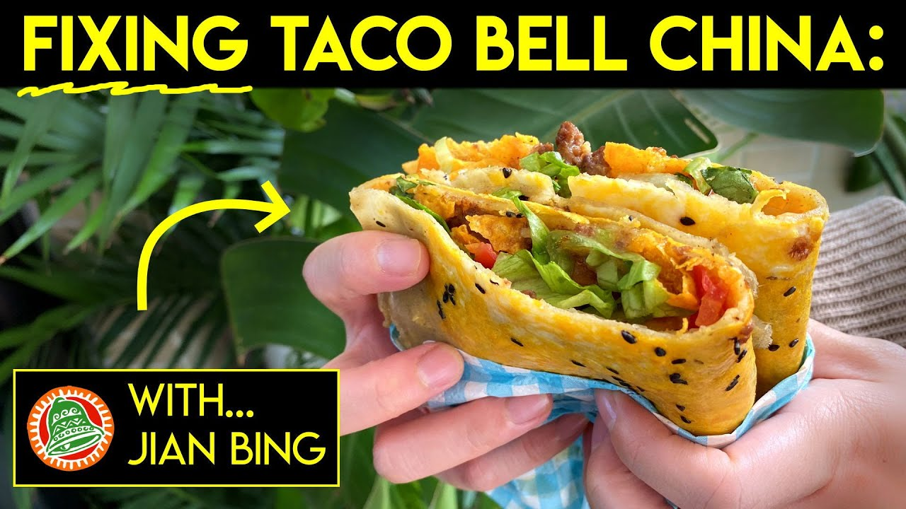 Jianbing, but with Taco Bell stuff