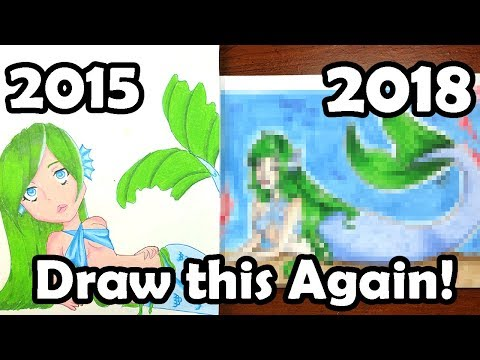 DRAW THIS AGAIN...AGAIN! ~ 3 Year YouTube Anniversary Q&A