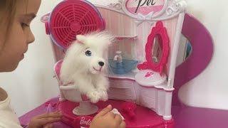 Барби кукла салон красоты для питомца собачки Barbie beauty saloon Итоги конкурса
