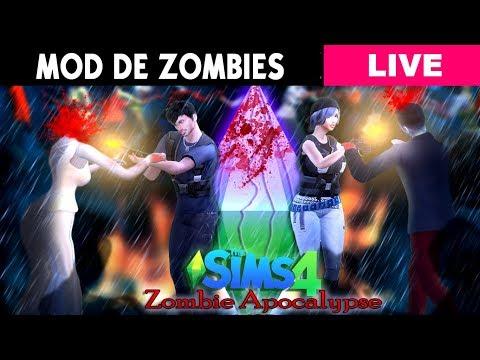 Robloxian High School Habitacion Secreta De Los Marcianitos En Directo Apocalipsis Zombie Mod Los Sims 4 By Jey Stiv